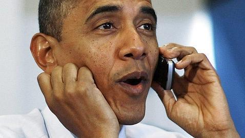 Obama llama a Rajoy para agradecerle sus felicitaciones por la reelección