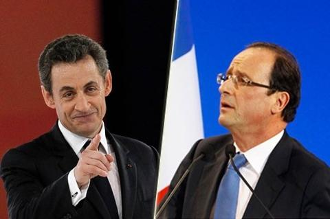 Sarkozy Slides Past Hollande in Polls