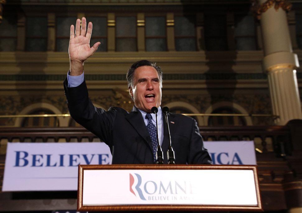 Romney se afianza como favorito