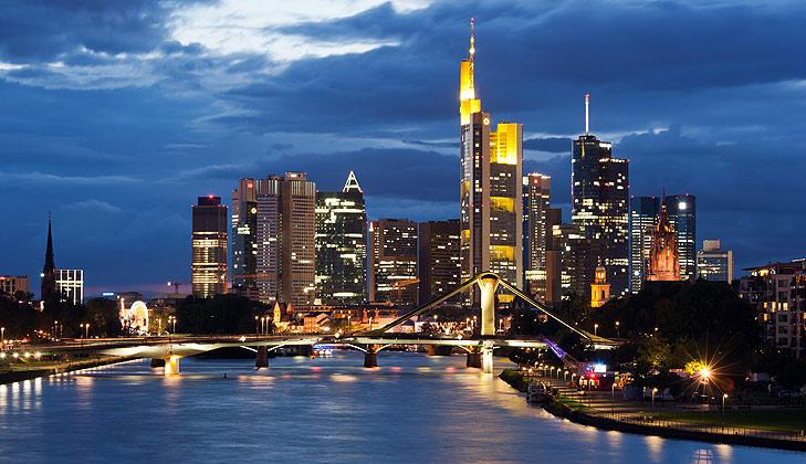 Imagen de Frankfurt, sede de los grandes bancos alemanes / Foto: Roland Meinecke