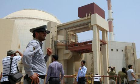 Iran's Bushehr nuclear plant