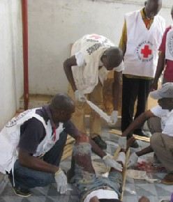 ICRC office in Guiglo, Côte d'Ivoire