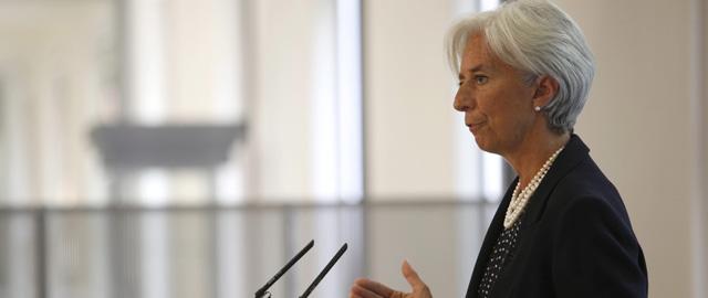 Lagarde subraya que las necesidades de capital de la banca española son menores de lo esperado