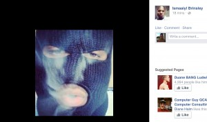 Photo of Ismaaiyl in his Facebook. The face of a terrorist