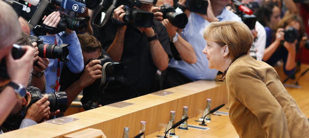 La canciller alemana, Angela Merkel. (Reuters)