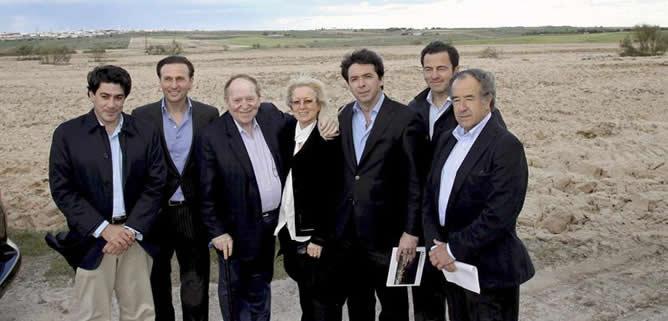 El magnate de Eurovegas, de visita en Alcorcón