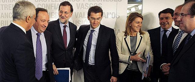 Rajoy anuncia otra ofensiva de reformas económicas y se compromete a frenar a Mas