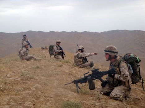 Militares españoles en Afganistán / MDE