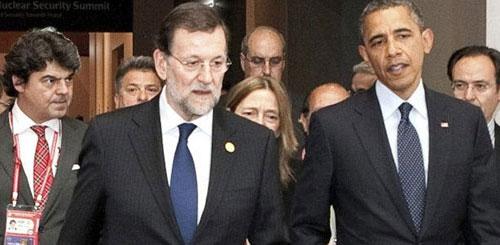 Obama invita a Rajoy a la Casa Blanca tras su primer encuentro en Seúl