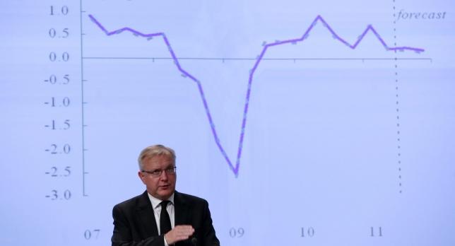 Olli Rehn, comisario europeo de Asuntos Monetarios