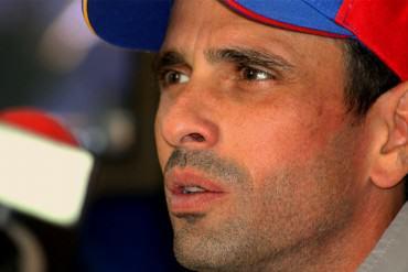 ¡SIN RETORNO! Capriles: Con o sin TSJ nuestro pueblo seguirá en la calle protestando
