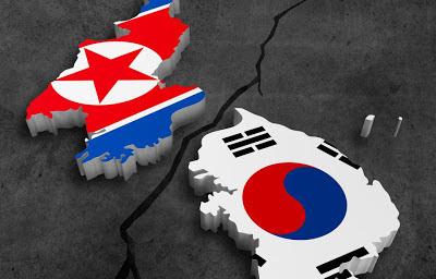 la proxima guerra corea del norte en semi alerta bandera corea del sur
