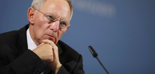 German Finance Minister Wolfgang Schäuble.