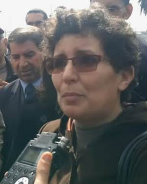 Khadija Riyadi, President of Morocco's human rights group AMDH