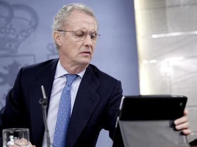 Pedro Morenés, en la conferencia de prensa de este viernes en Moncloa/EFE