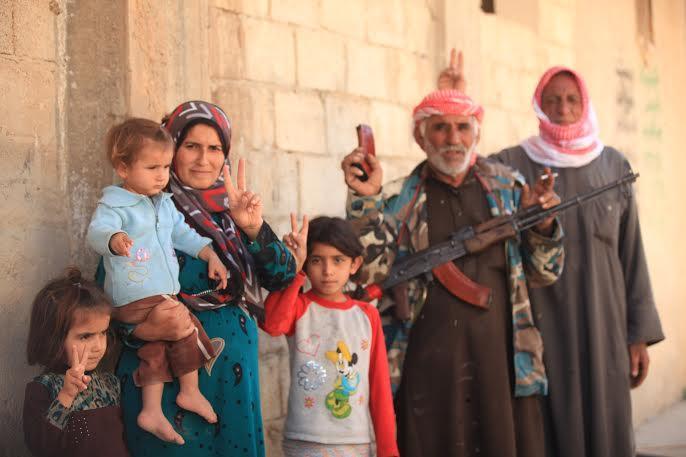 Kobane family
