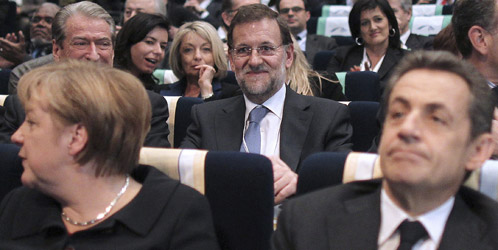 Rajoy sigue la táctica de Aznar para recuperar el peso perdido en la Unión Europea