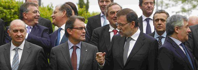 Mariano Rajoy pasa al ataque contra Artur Mas.